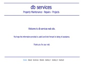 DB Services Property Maintenance-Repairs-Projects