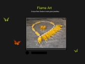 Flame Art Glass Jewellery - Emily Lake, Picton, New Zealand