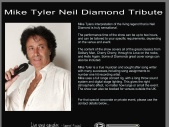 Mike Tyler Neil Diamond Tribute