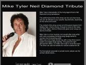 Mike Tyler Neil Diamond Tribute