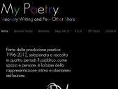 My Poetry - Visionary Writing and A Few Other Shots by Davide Zucchelli