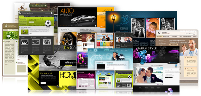 Templates Designs MAGIX Website Maker Website Maker Create - Create web page template